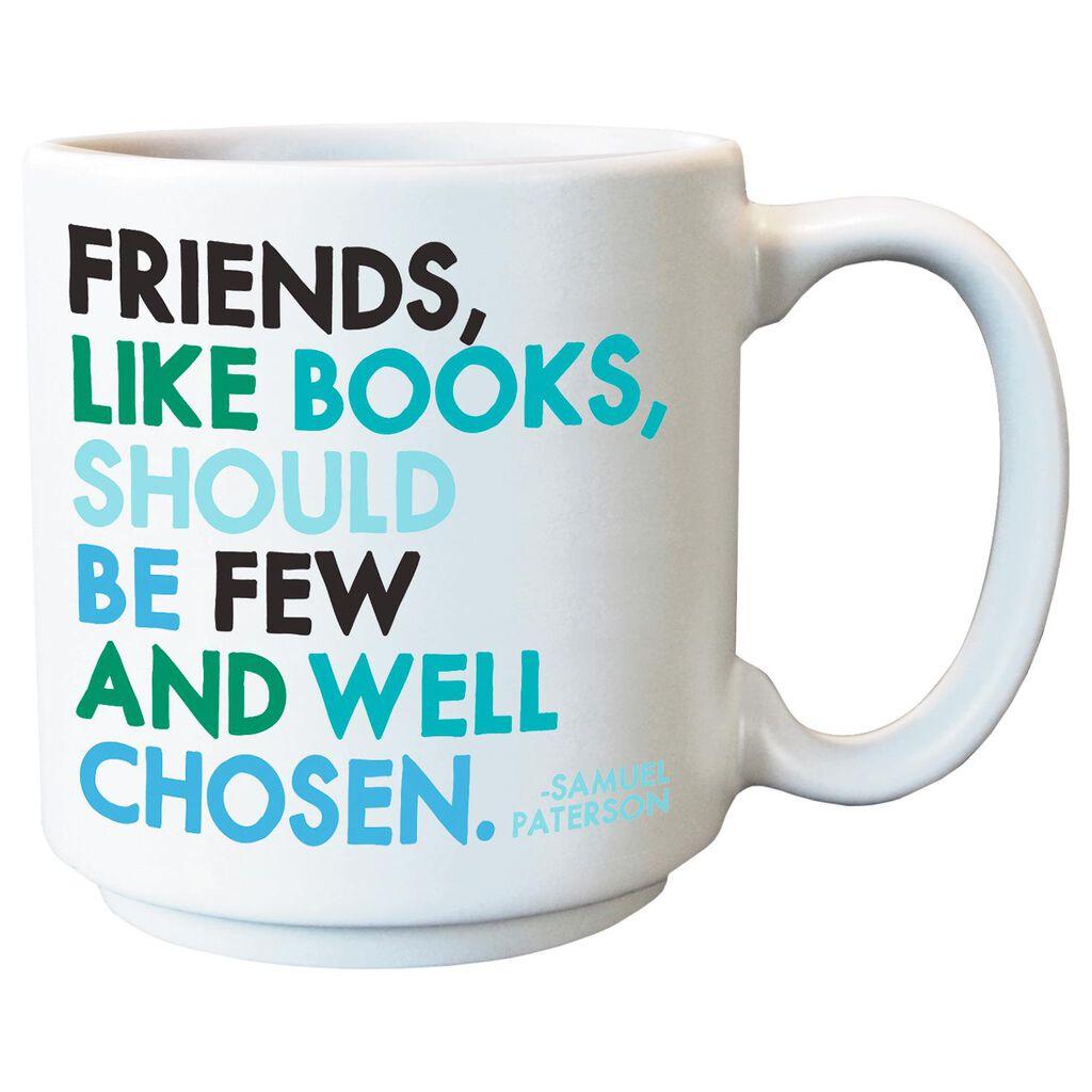 4201839b78e Friends Are Like Books Quote Mini Mug, 3 oz. - Mugs & Teacups - Hallmark