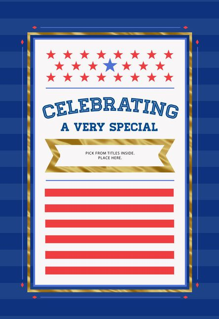 Customizable public servicemilitary graduation card with stickers m4hsunfo