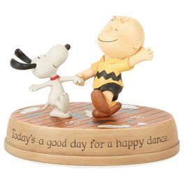 Peanuts® Happy Dance Figurine, , large