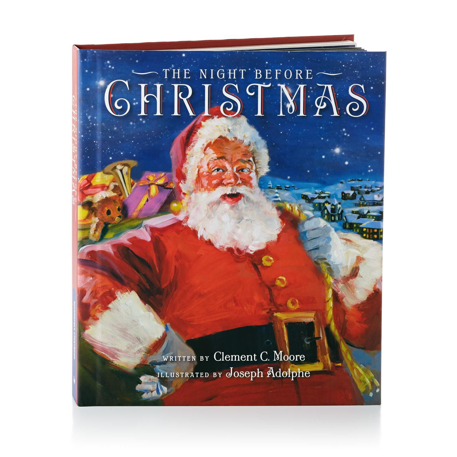 the night before christmas recordable storybook recordable storybooks hallmark - Twas The Night Before Christmas Youtube