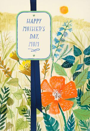 Field of Flowers Mother's Day Card