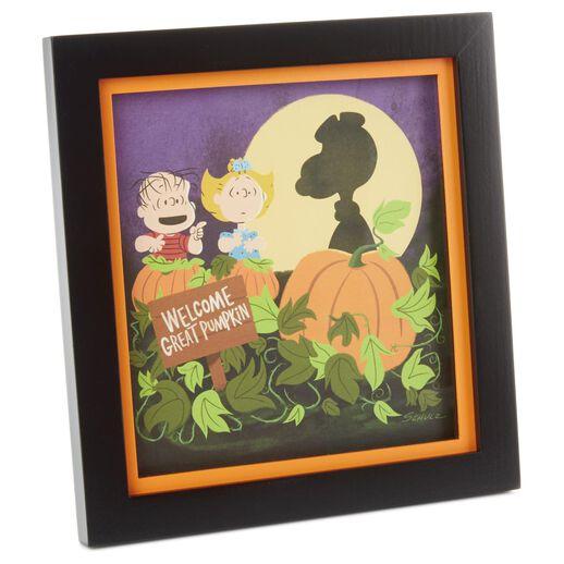 Peanuts Great Pumpkin Framed Art Art Hallmark