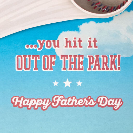 427edd3a7 ... Peanuts® Awesome Grandpa Snoopy Baseball Father's Day Card,