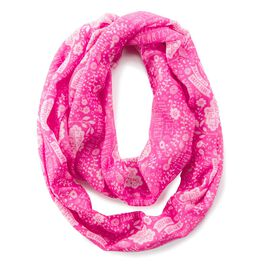 Pink Birthday Infinity Scarf, , large