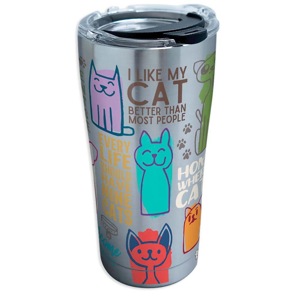 2a21b9216a6 Tervis Cat Sayings Stainless Steel Tumbler, 20 oz. - Tumblers - Hallmark