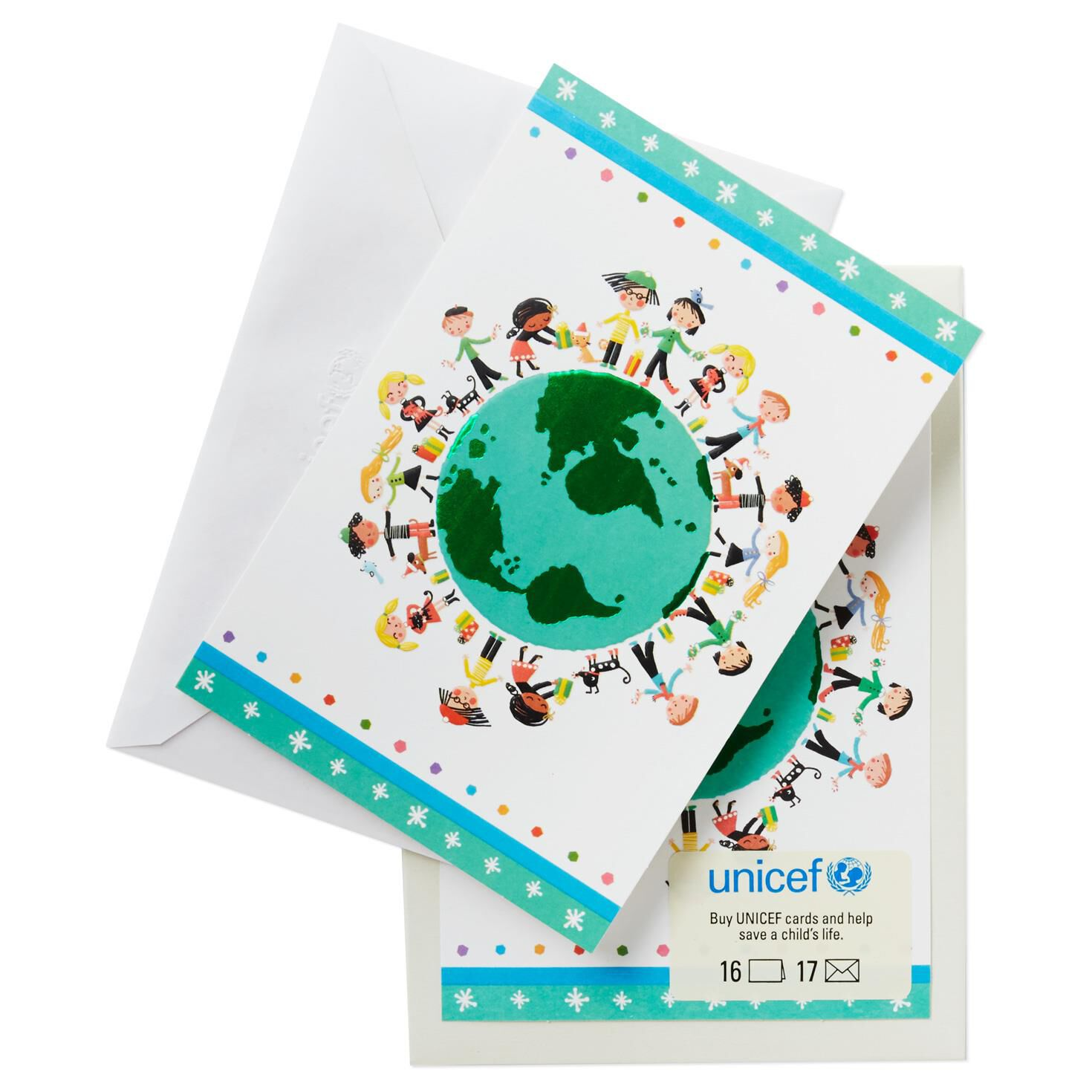 UNICEF Kids Around the World Christmas Cards, Box of 16 - Boxed ...