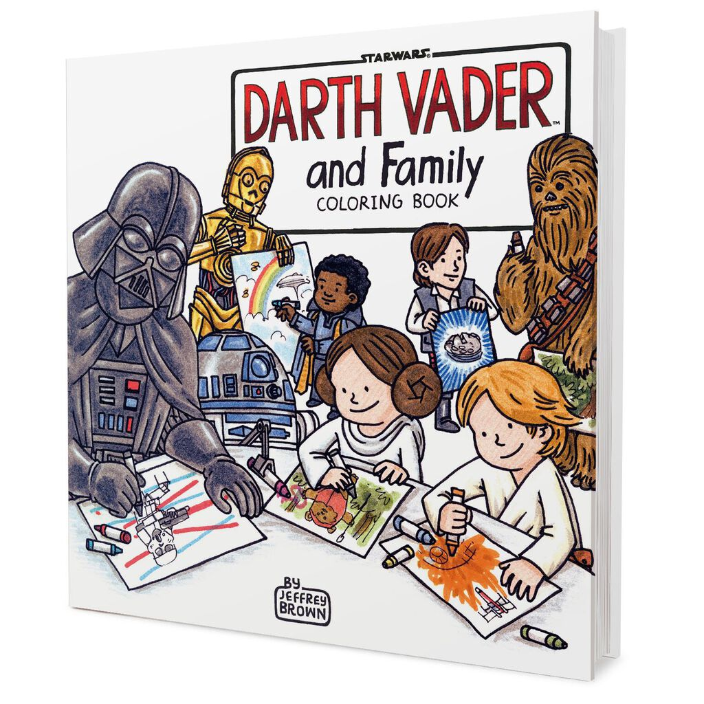 Darth Vader and Family Coloring Book - Coloring Books - Hallmark