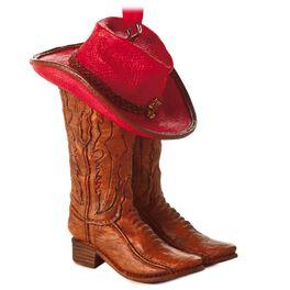 Cowboy Hallmark Gift Ornament, , large