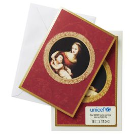 UNICEF Madonna and Child Christmas Cards, Box of 16, , large