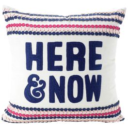"""Here & Now Pillow, 16"""" Square, , large"""