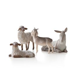 Willow Tree® Sheltering Animals for Holy Family Figurines, , large