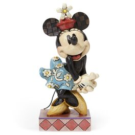 Jim Shore Perfect Sweetheart Minnie Mouse Figurine, , large