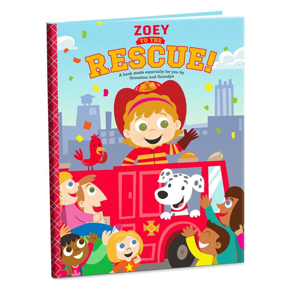 Rescue Personalized Book - Personalized Books - Hallmark