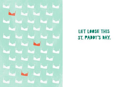 Erin Go Braless Funny St. Patrick's Day Card,