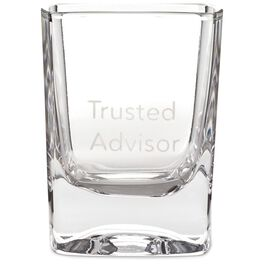 Trusted Advisor Lowball Glass, 10 oz., , large