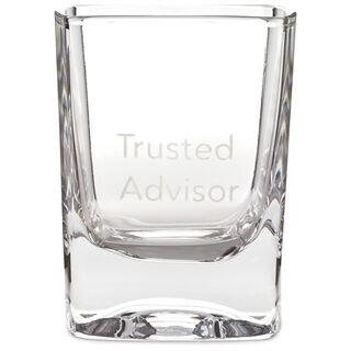 Trusted Advisor Lowball Glass, 10 oz.,