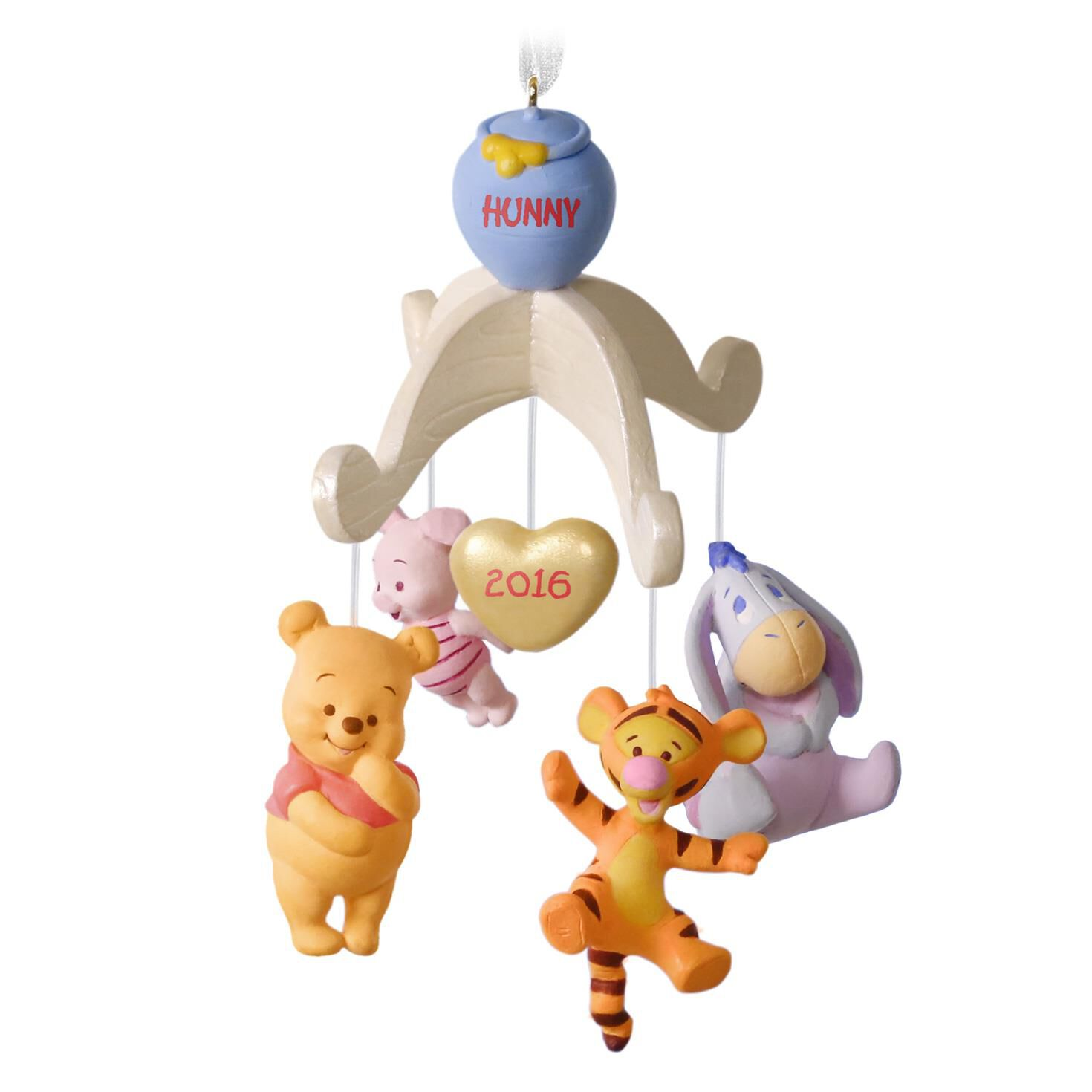 Disney ornament sets - Baby S First Christmas Winnie The Pooh Collection Ornament Keepsake Ornaments Hallmark