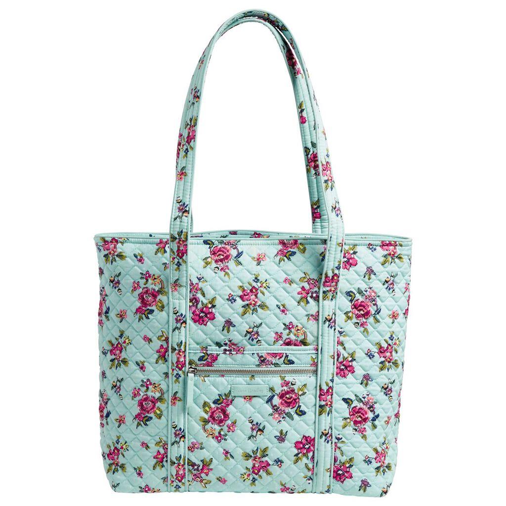 010cabda9c Vera Bradley Iconic Vera Tote Bag in Water Bouquet - Handbags ...