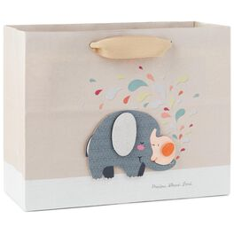"Elephant Love Medium Gift Bag, 7.75"", , large"