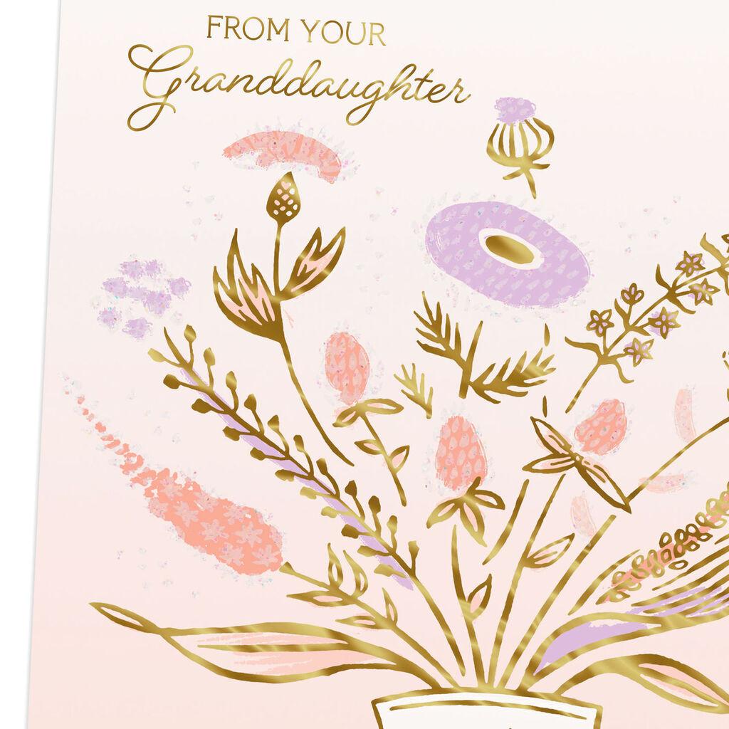 Grandma Youre Loving Birthday Card From Granddaughter