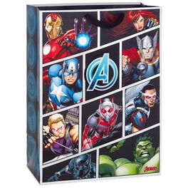 "Marvel Avengers Assemble X-Deep Gift Bag, 20"", , large"