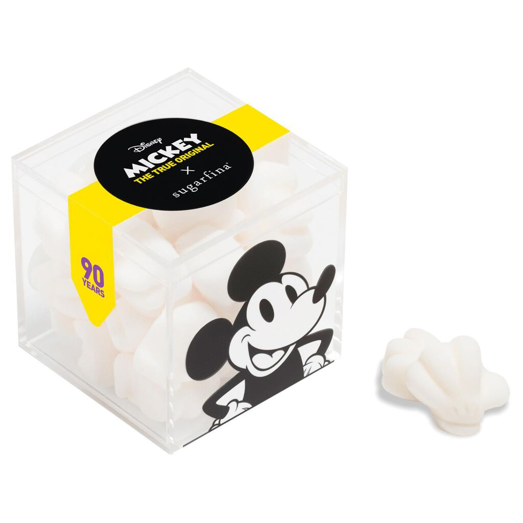 Sugarfina Candy Mickey Mouse Gloves Cube Gift Box, 2 25