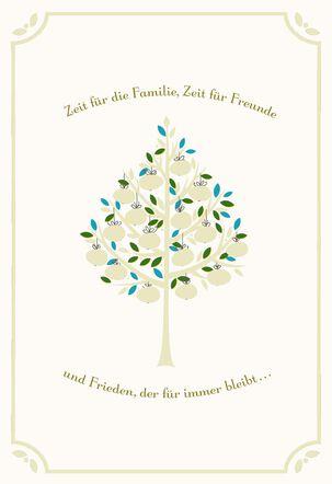 Renewed Peace German-Language Easter Card