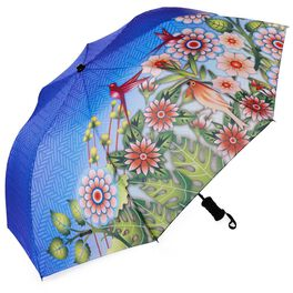 Catalina Estrada Hummingbird Haven Umbrella, , large