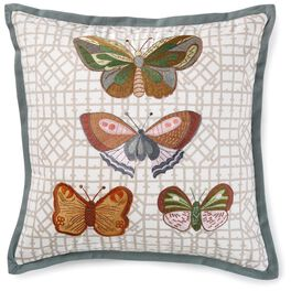 Heritage Butterfly Pillow, , large