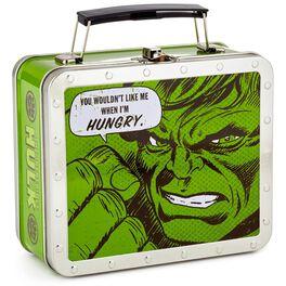 Hulk Metal Retro Lunch Box, , large