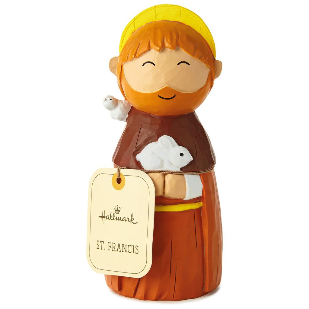 St  Francis Faith Friends Figurine