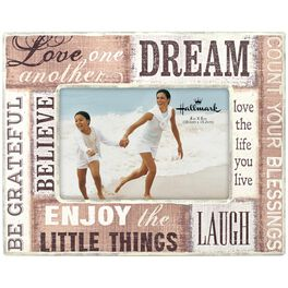 Enjoy the Little Things Wood Picture Frame, 4x6, , large