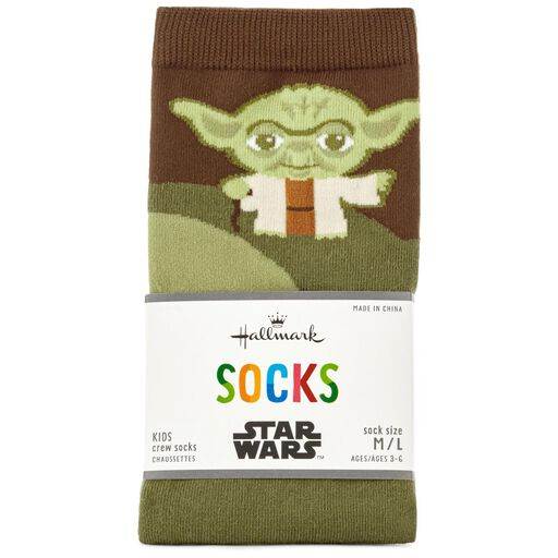bfac9191cc0d ... Star Wars™ Yoda™ Kids Novelty Socks