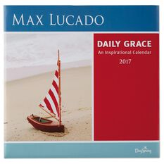 dayspring max lucado daily grace an inspirational 2017