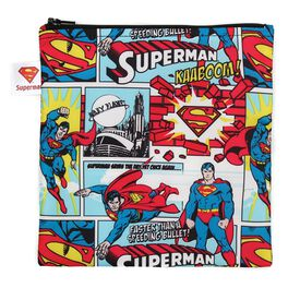 SUPERMAN™ Large Reusable Snack Bag by Bumkins, , large