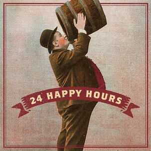 24 Happy Hours Musical Father's Day Card