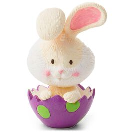 Easter Bunny in Egg Figurine, , large