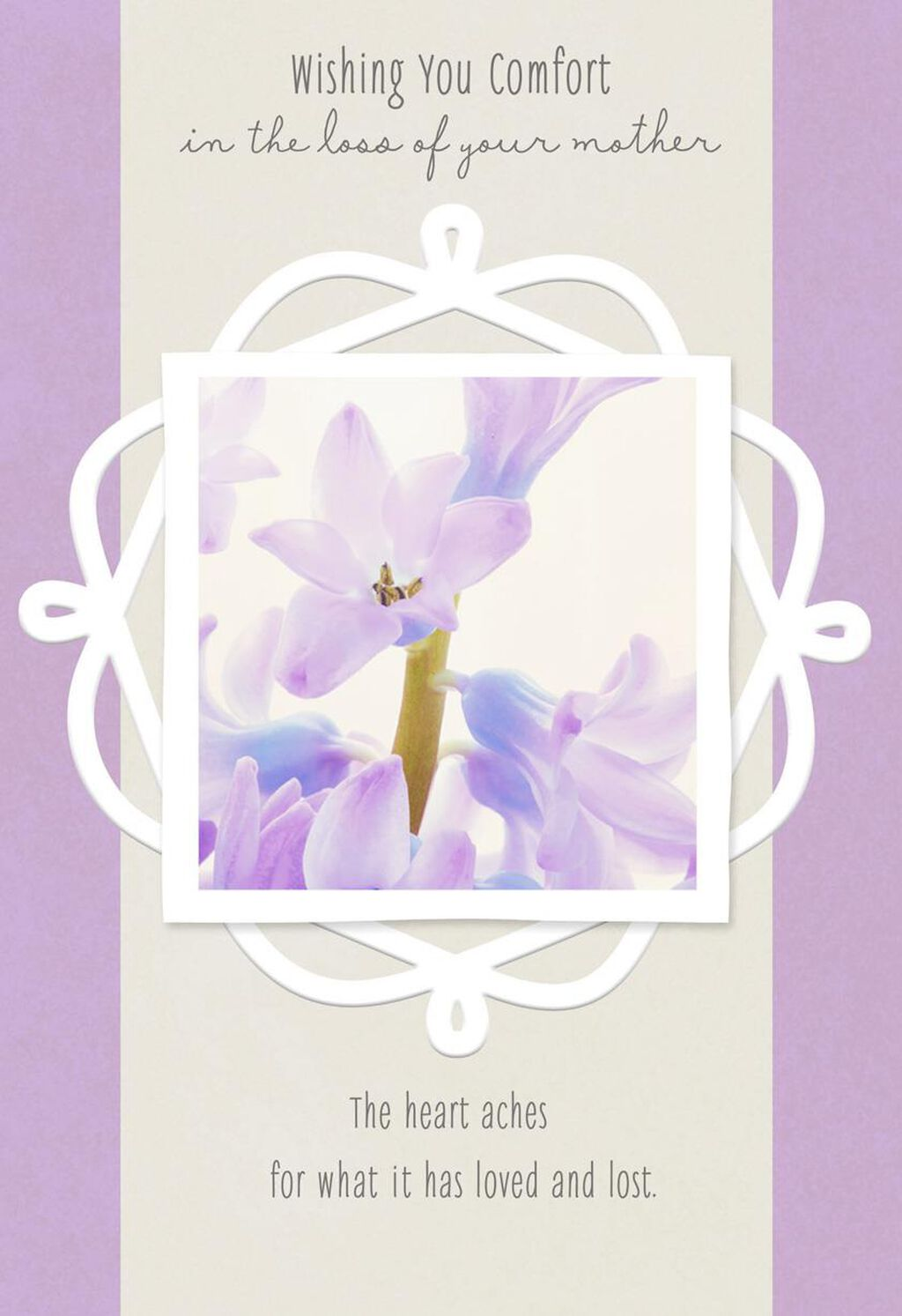 Wrap Up In Memories Of Your Mom Sympathy Card Greeting Cards