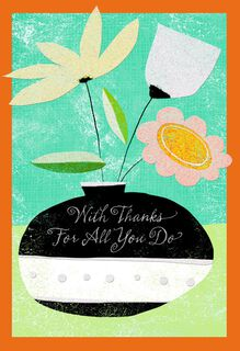 Your Day for Praise Admin Professionals Day Card,