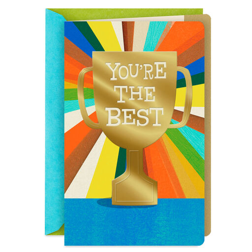 Youre The Best Trophy Fathers Day