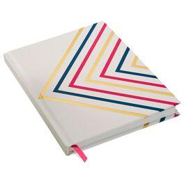Multi-Stripe Chevron Foil Journal, , large