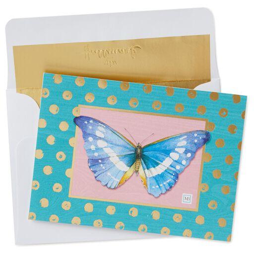 Marjolein bastin cards gifts natures sketchbook hallmark marjolein bastin blue butterfly blank note cards pack of 10 m4hsunfo
