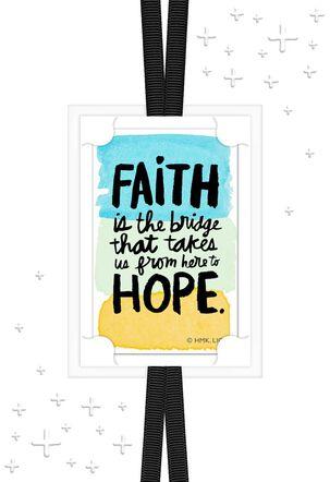 Faith Brings Hope Encouragement Card