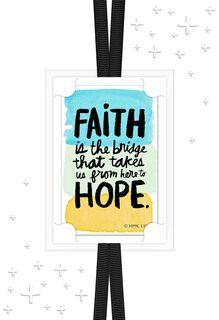 Faith Brings Hope Encouragement Card,