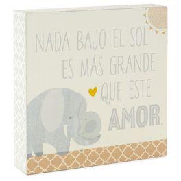 Que Grande Amor Baby Block, , large