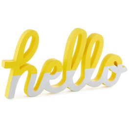 "Hello Sign, 7"", , large"