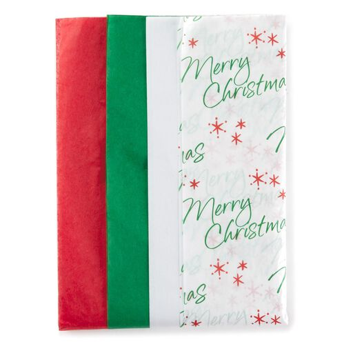 new item on sale christmas 4 pack tissue paper 24 sheets
