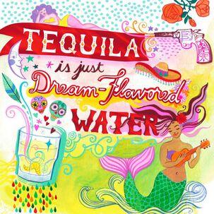 Tequila Dreams Birthday Card