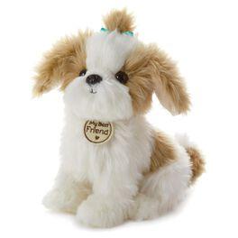 Tan and White Cuddly Dog Large Stuffed Animal, , large