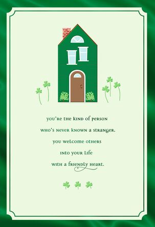 Little Green House St. Patrick's Day Card